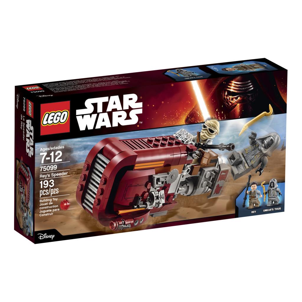 LEGO 75099 Rey's Speeder - Box Art