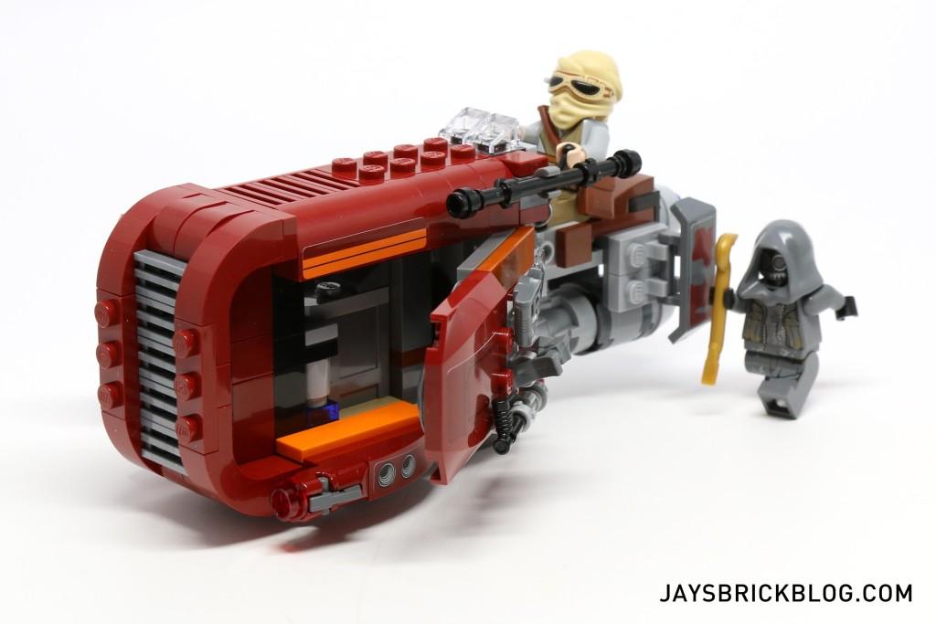 LEGO 75099 Rey's Speeder - Chase