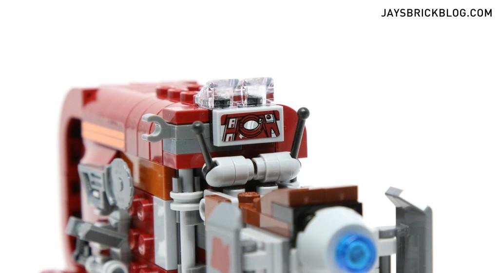 LEGO 75099 Rey's Speeder - Driver's Seat