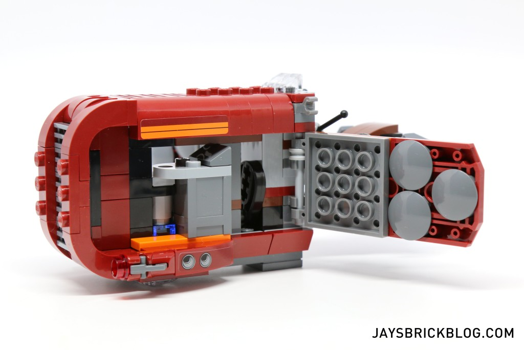 LEGO 75099 Rey's Speeder - Interiors
