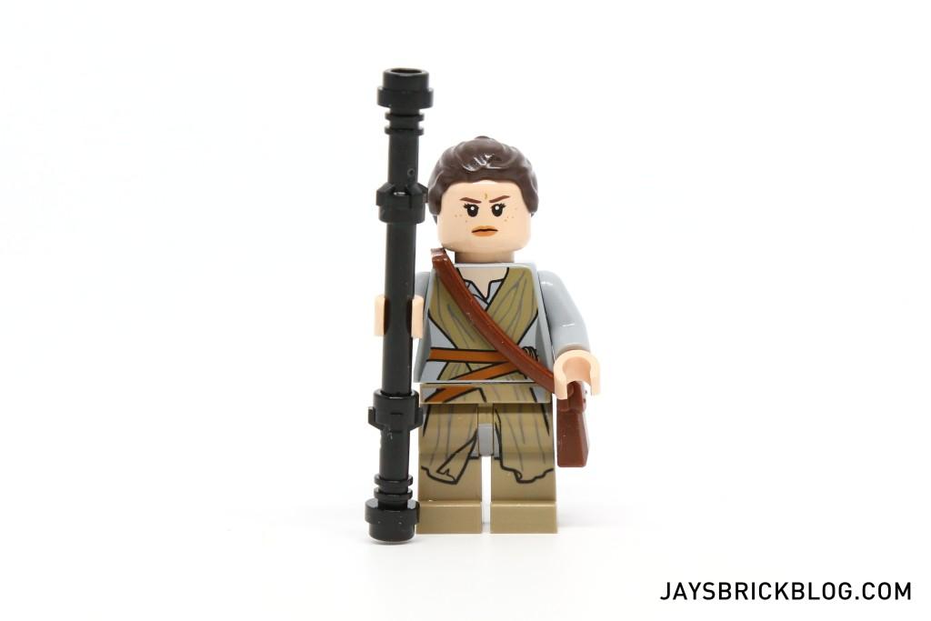 LEGO 75099 Rey's Speeder - Rey Minifigure Alternate Face