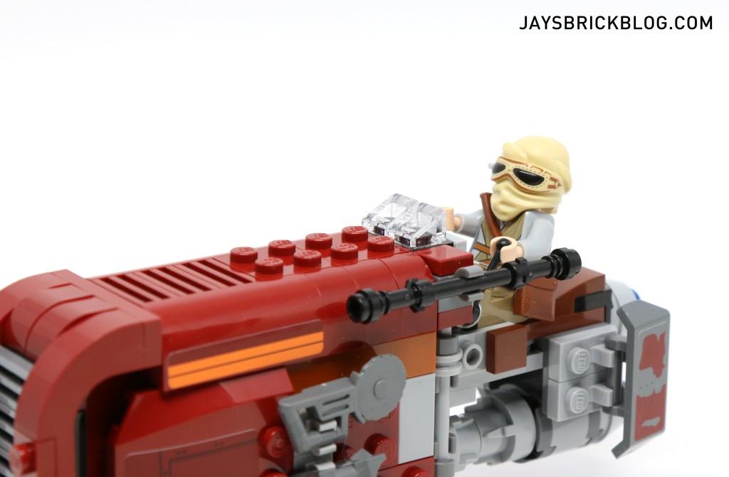 LEGO 75099 Rey's Speeder - Rey in Driver's Seat