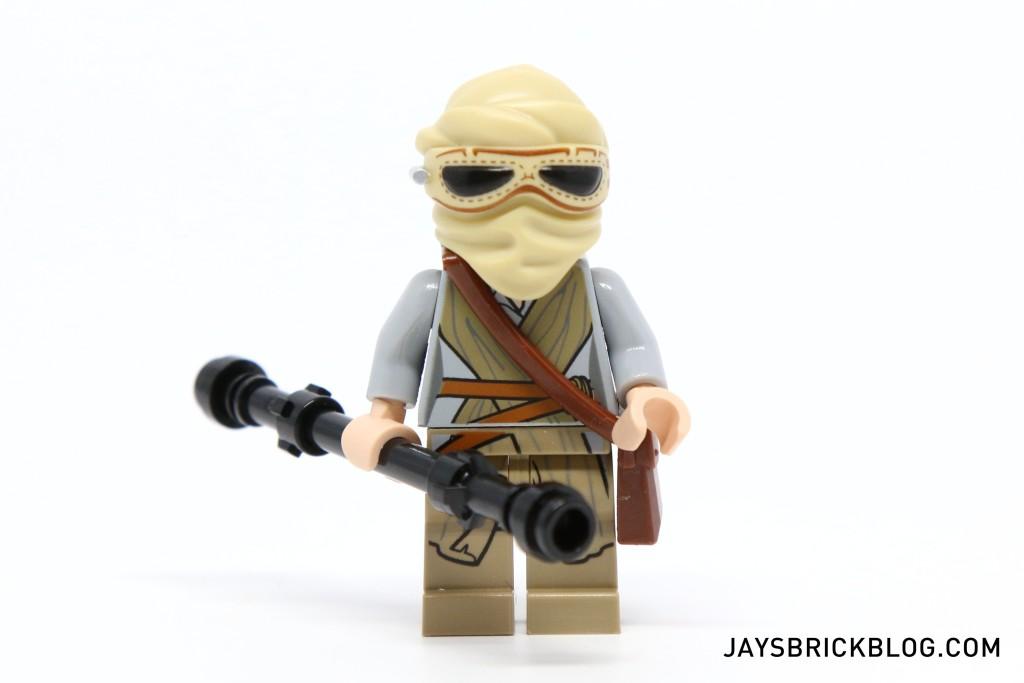 LEGO 75099 Rey's Speeder - Rey with Headgear