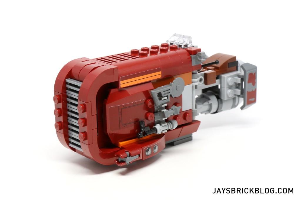 LEGO 75099 Rey's Speeder - Speeder Front View