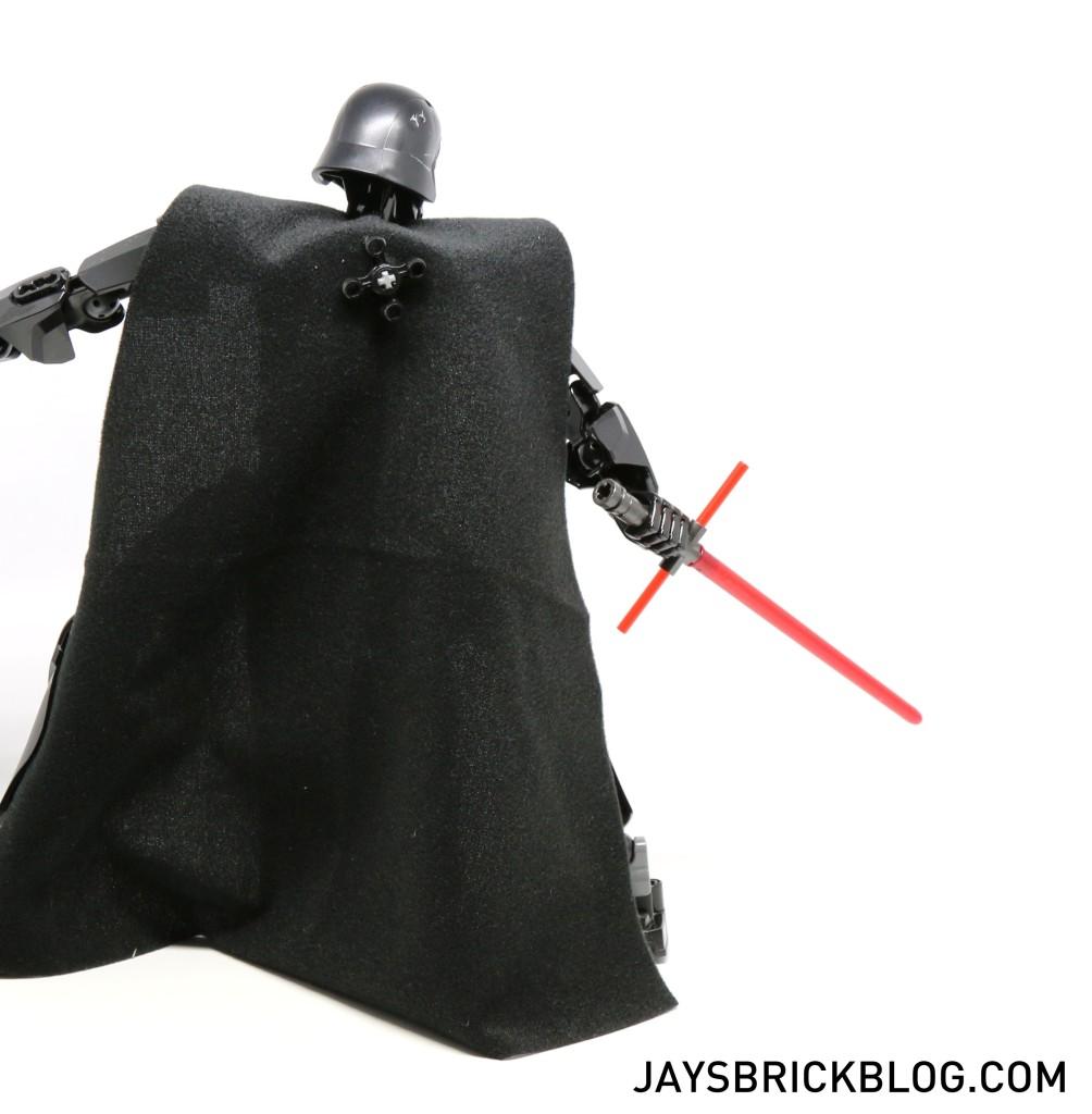 LEGO 75117 Kylo Ren - Back Pose