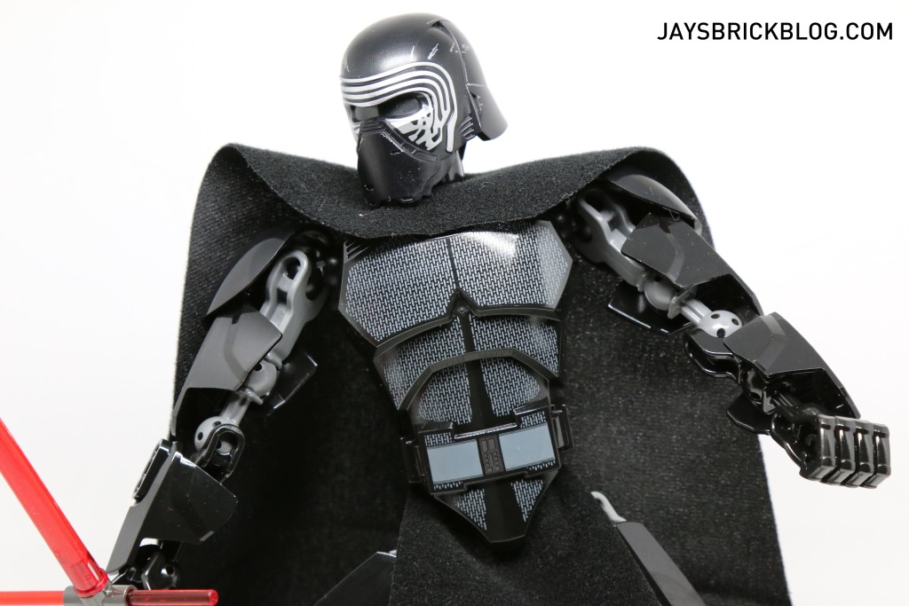LEGO 75117 Kylo Ren - Body Armour Details