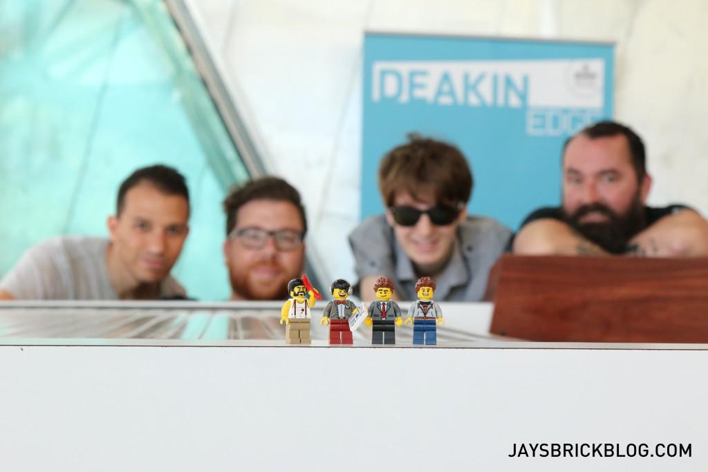 LEGO Brickstameet Fed Square - Brickstameet Hosts The Short News, LLWorld, Cheepjokes, Brett Wilson