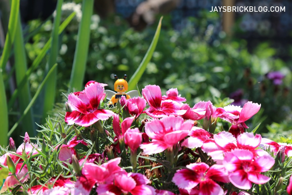 LEGO Brickstameet Fed Square - Bumblebee Girl in Flowers