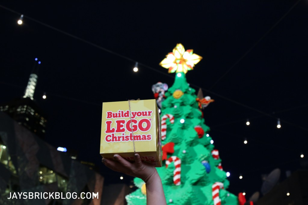 LEGO Christmas Tree Federation Square Melbourne - Build your LEGO Christmas Box