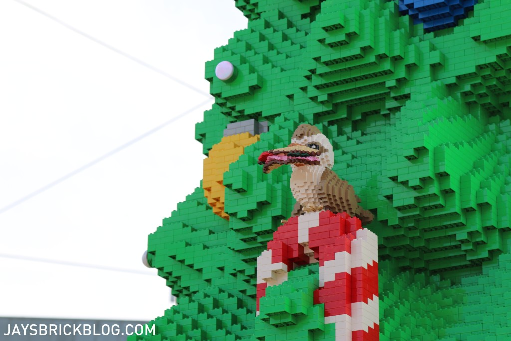 LEGO Christmas Tree Federation Square Melbourne - Kookaburra