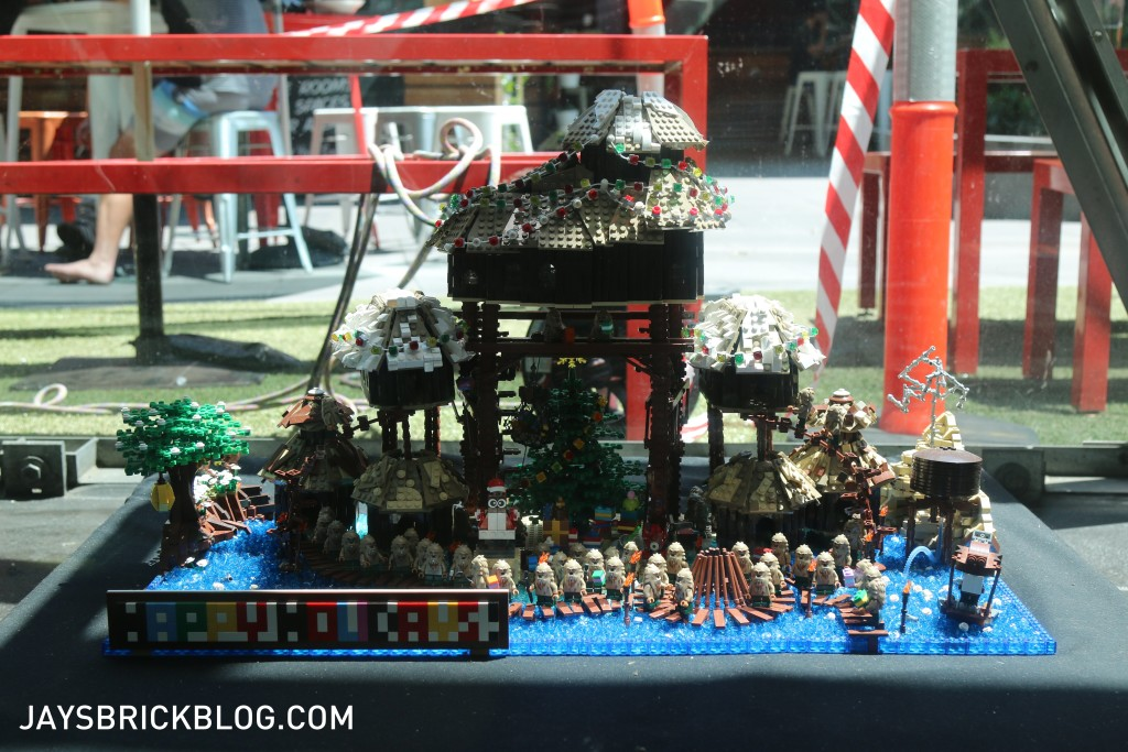 LEGO Christmas Tree Federation Square Melbourne - LEGO Display Beavertown