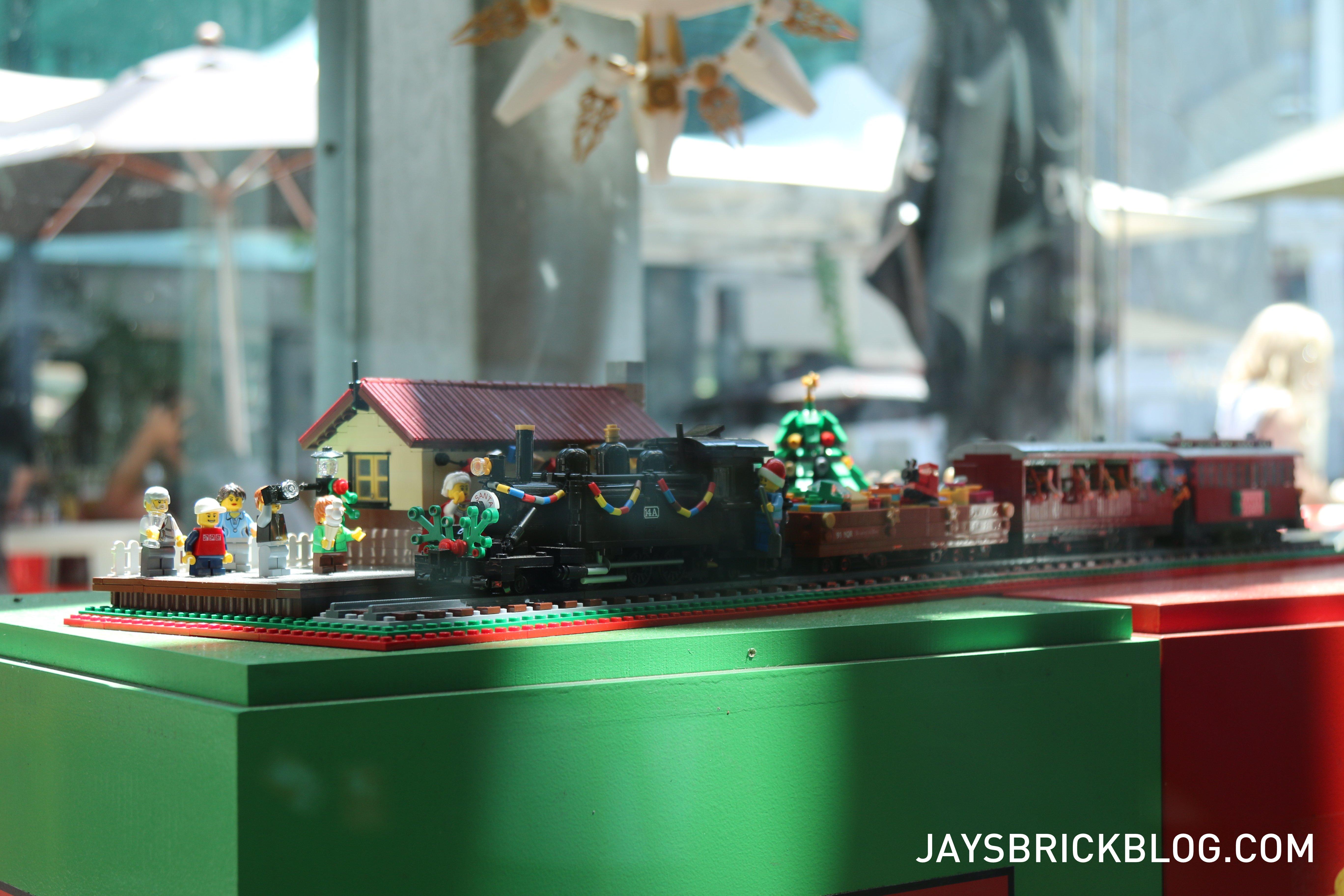 LEGO Christmas Tree Federation Square