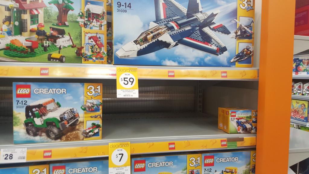 LEGO Kmart January Clearance 2016 (1)