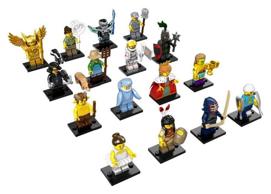 LEGO Minifigures Series 15 Complete Lineup