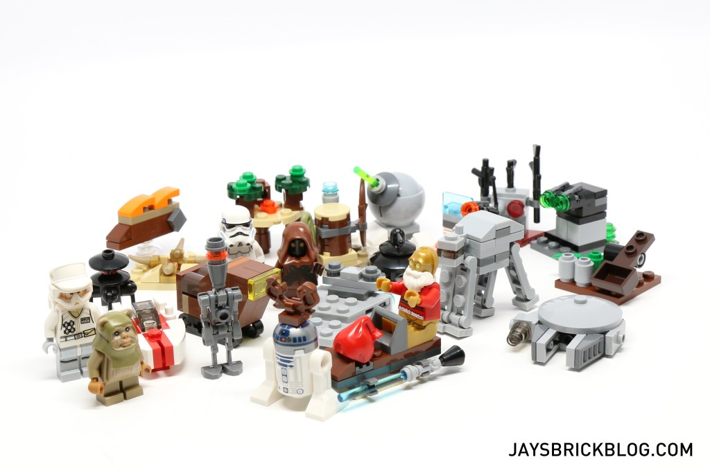 LEGO Star Wars Advent Calendar 2015 Complete