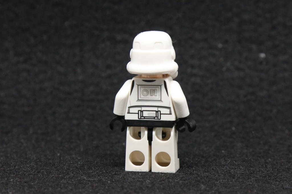 LEGO Star Wars Advent Calendar 2015 Day 10 - Stormtrooper Minifig Back
