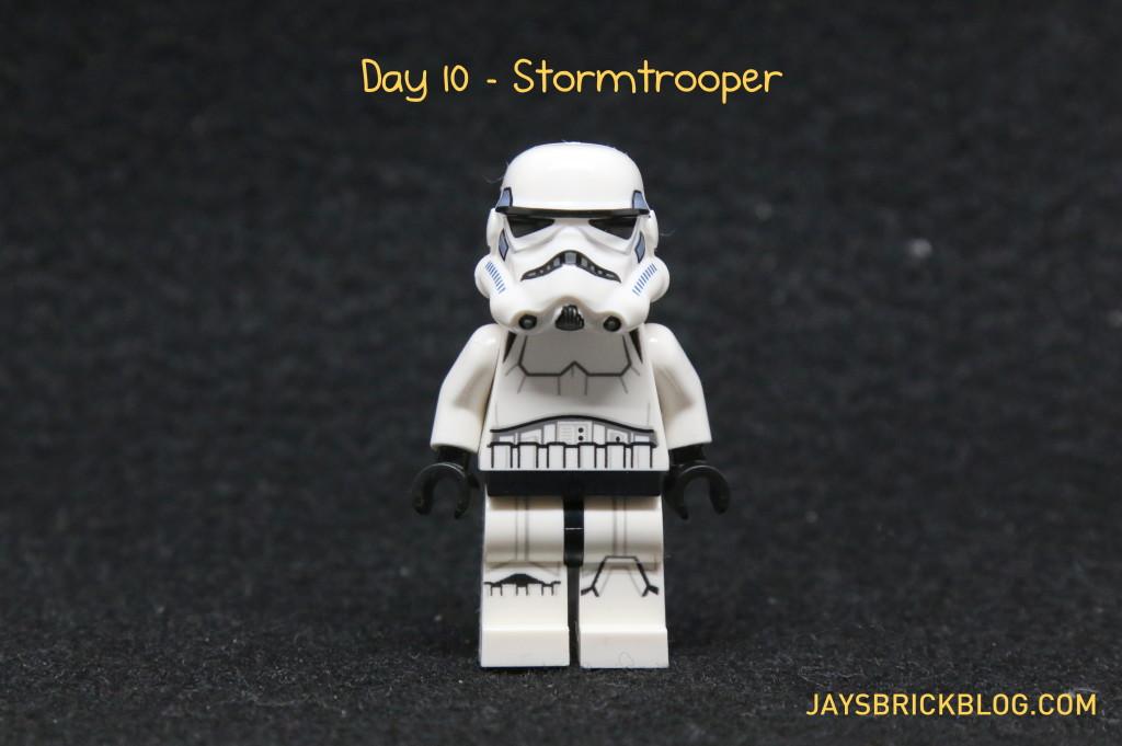 LEGO Star Wars Advent Calendar 2015 Day 10 - Stormtrooper Minifigure