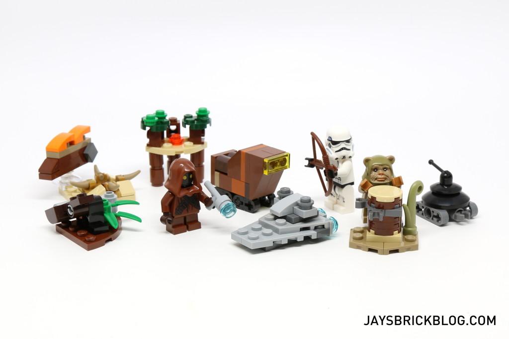 LEGO Star Wars Advent Calendar 2015 Day 11 So Far