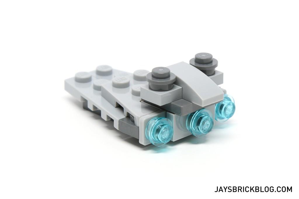 LEGO Star Wars Advent Calendar 2015 Day 11 - Star Destroyer Back View