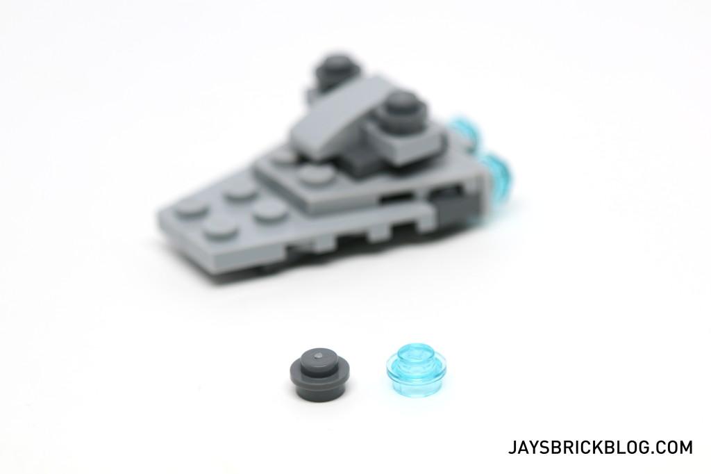 LEGO Star Wars Advent Calendar 2015 Day 11 - Stare Destroyer Spare Elements