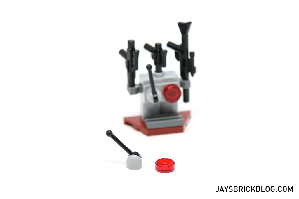 LEGO Star Wars Advent Calendar 2015 Day 12 - Blaster Rack Spare Parts