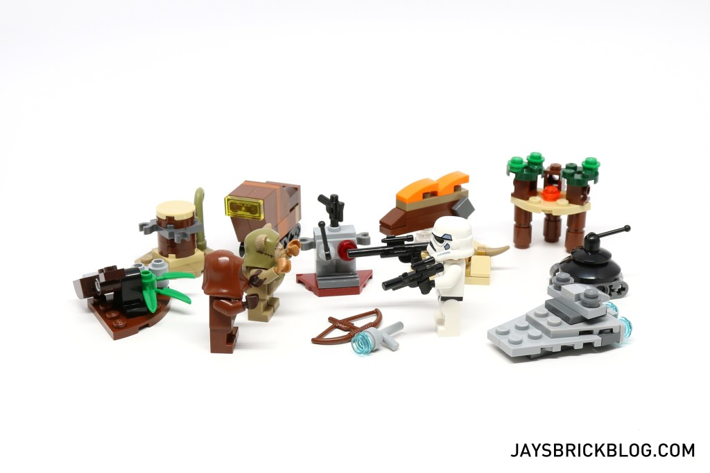 LEGO Star Wars Advent Calendar 2015 Day 12 So Far
