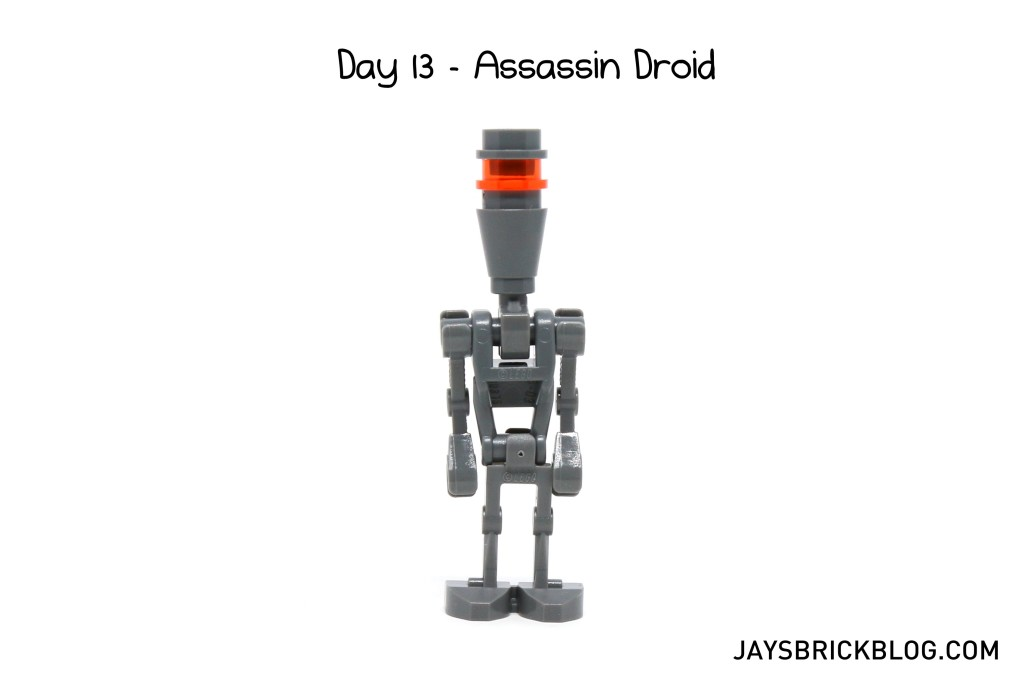 LEGO Star Wars Advent Calendar 2015 Day 13 - Assassin Droid