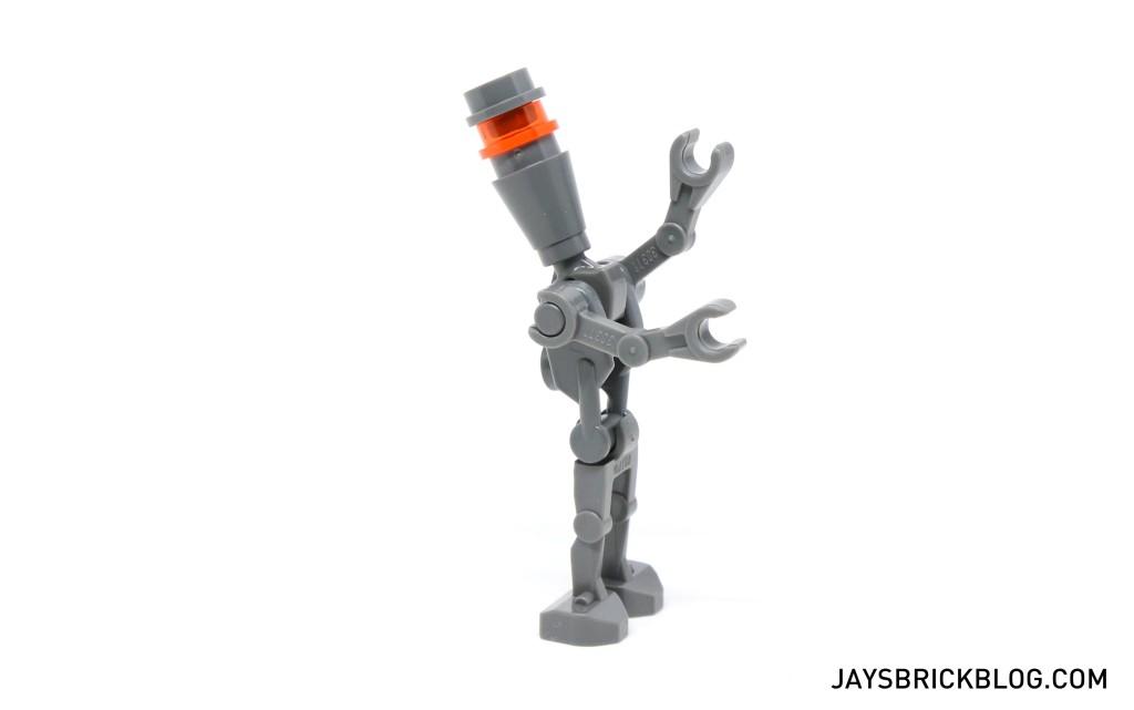 LEGO Star Wars Advent Calendar 2015 Day 13 - Assassin Droid Posing