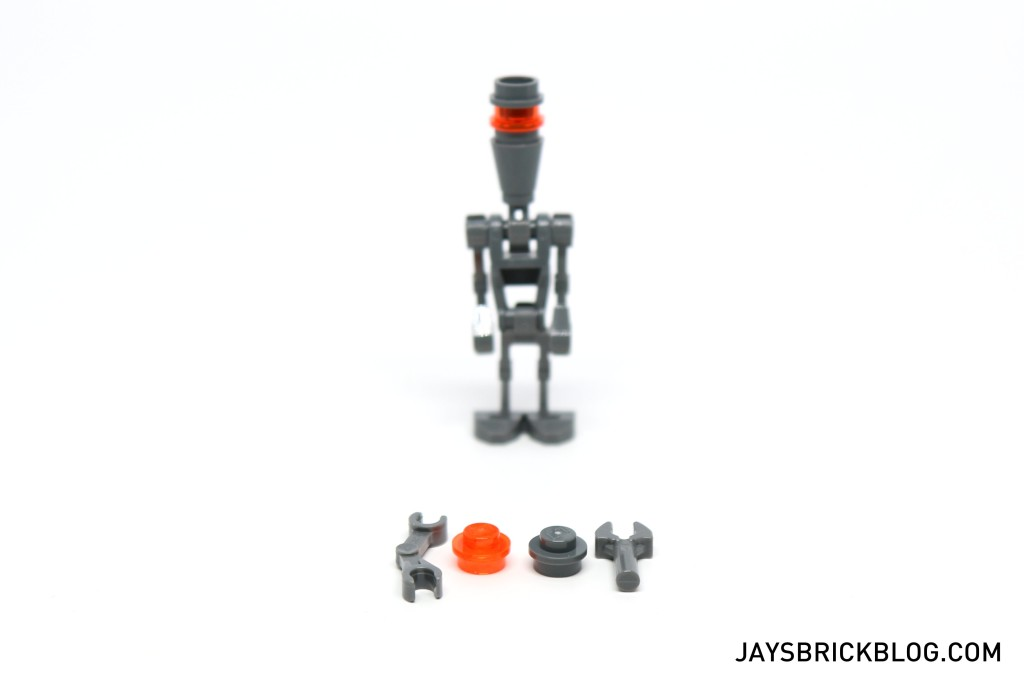 LEGO Star Wars Advent Calendar 2015 Day 13 - Assassin Droid Spare Elements