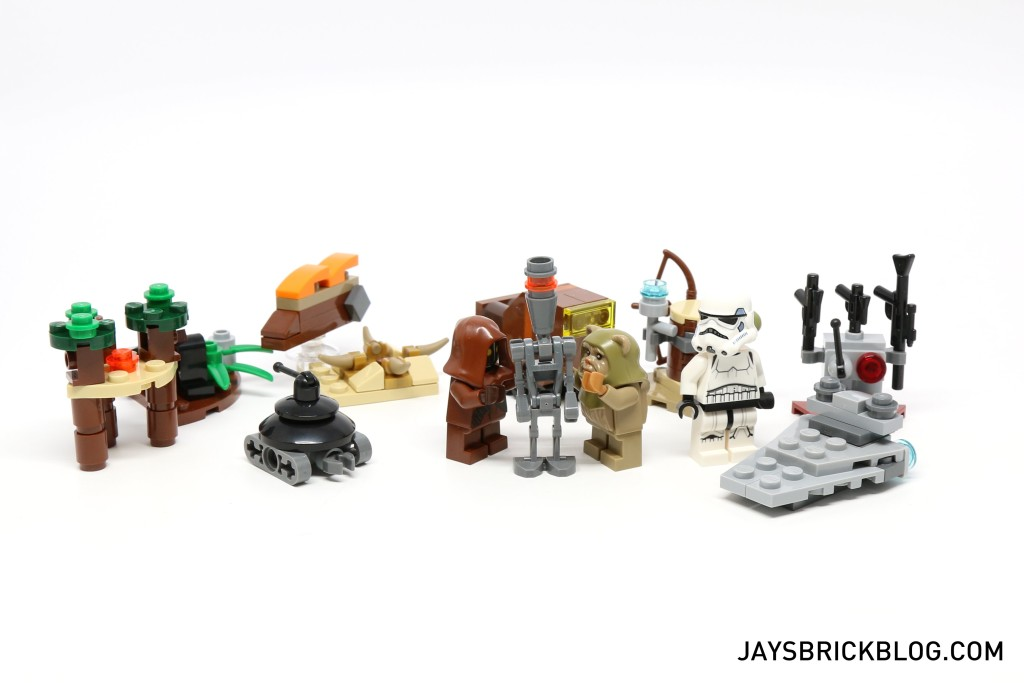 LEGO Star Wars Advent Calendar 2015 Day 13 So Far