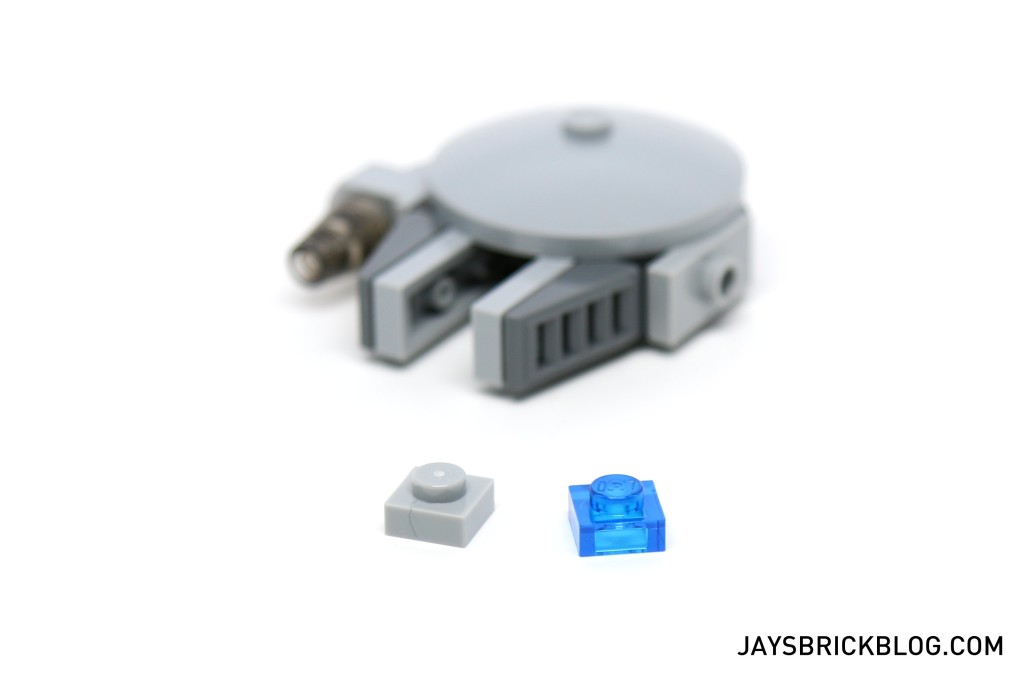 LEGO Star Wars Advent Calendar 2015 Day 14 - Millennium Falcon Spare Parts