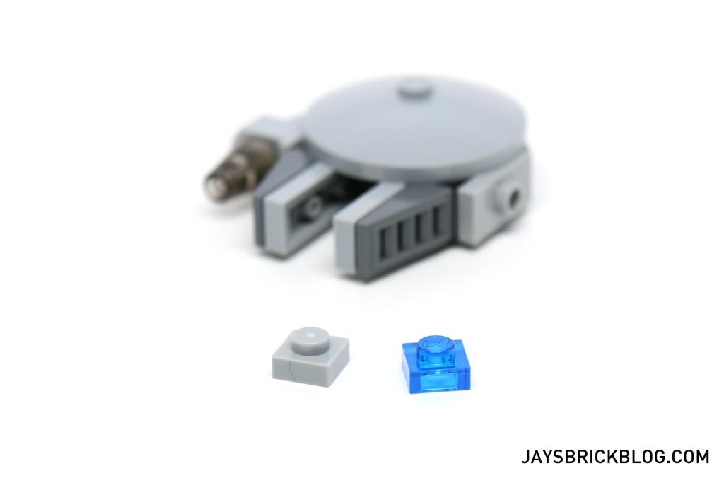 LEGO Star Wars Advent Calendar 2015 Day 14 - Millennium Falcon Spare Parts