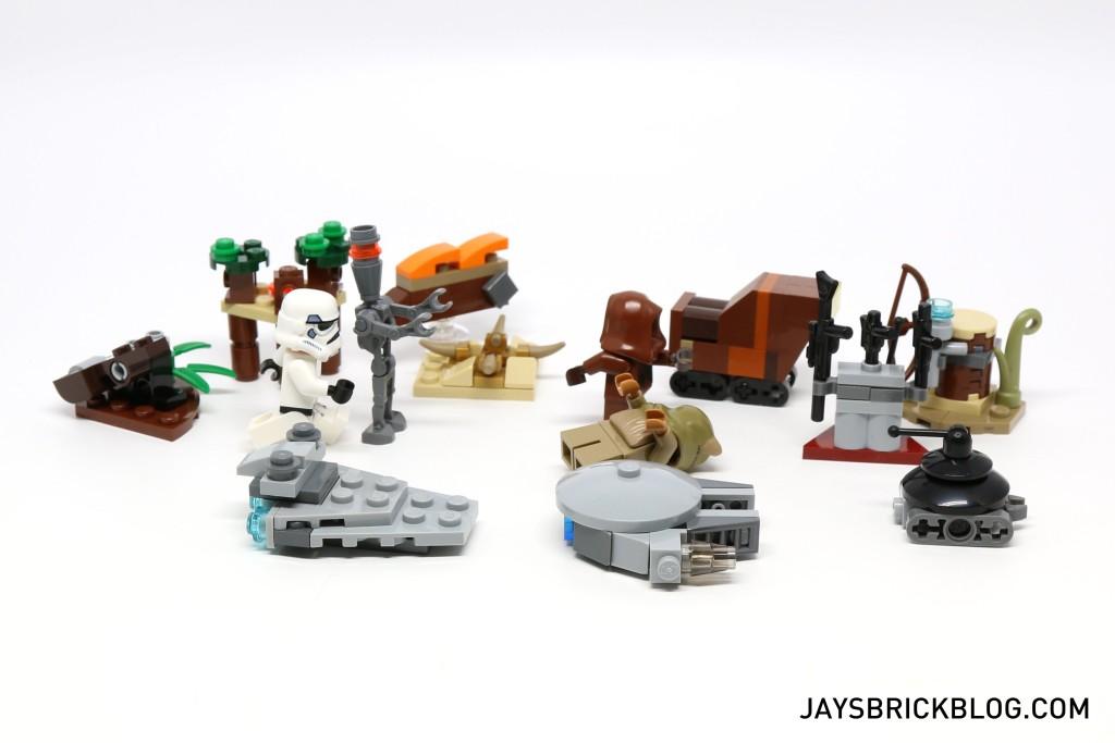 LEGO Star Wars Advent Calendar 2015 Day 14 So Far
