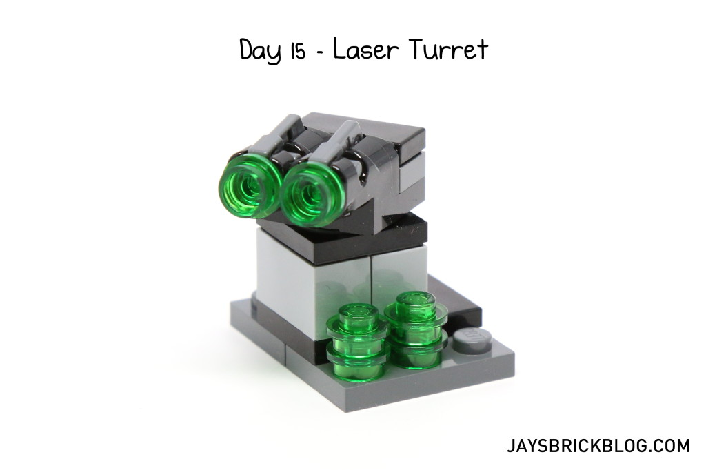 LEGO Star Wars Advent Calendar 2015 Day 15 - Laser Turret