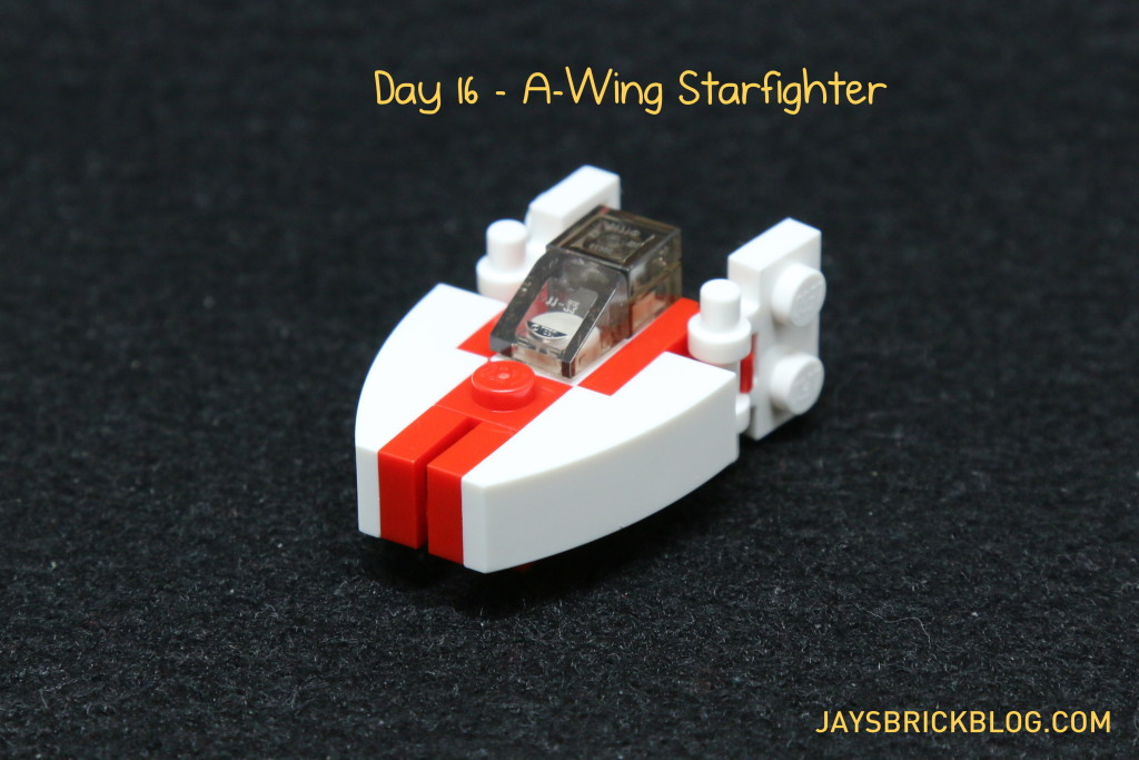 LEGO Star Wars Advent Calendar 2015 Day 16 - A-Wing Starfighter