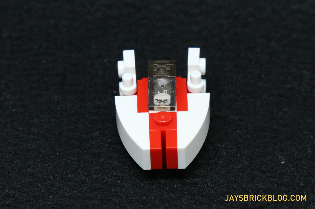 LEGO Star Wars Advent Calendar 2015 Day 16 - A-Wing Starfighter Front View