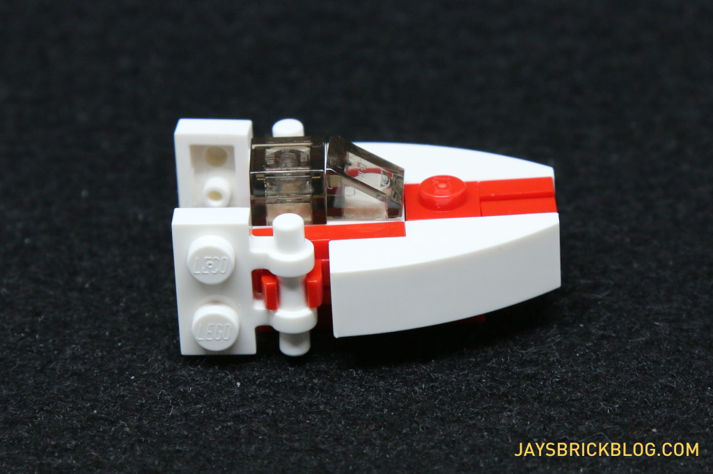 LEGO Star Wars Advent Calendar 2015 Day 16 - A-Wing Starfighter Side View