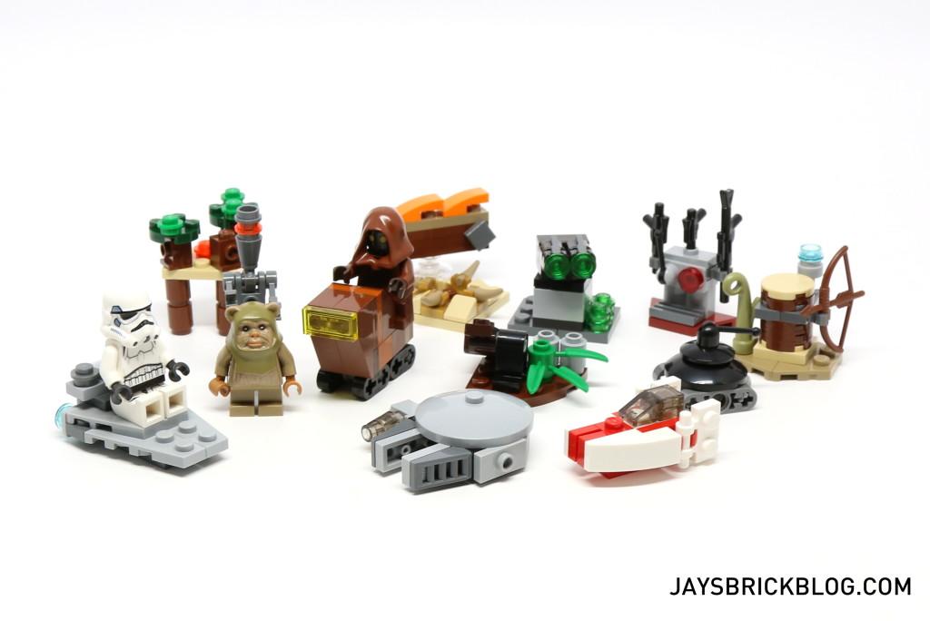 LEGO Star Wars Advent Calendar 2015 Day 16 - A-Wing Starfighter So Far