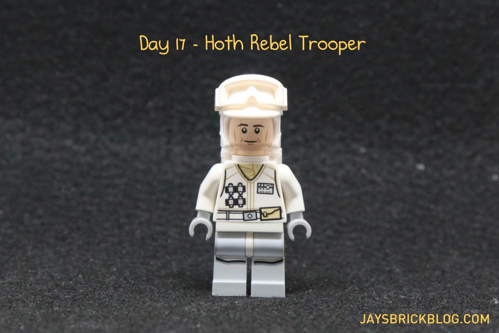 LEGO Star Wars Advent Calendar 2015 Day 17 - Hoth Rebel Trooper Minifigure