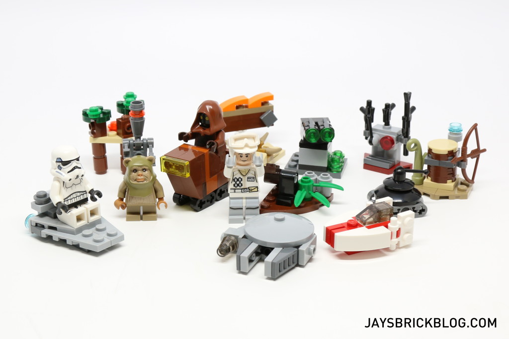LEGO Star Wars Advent Calendar 2015 Day 17 So Far