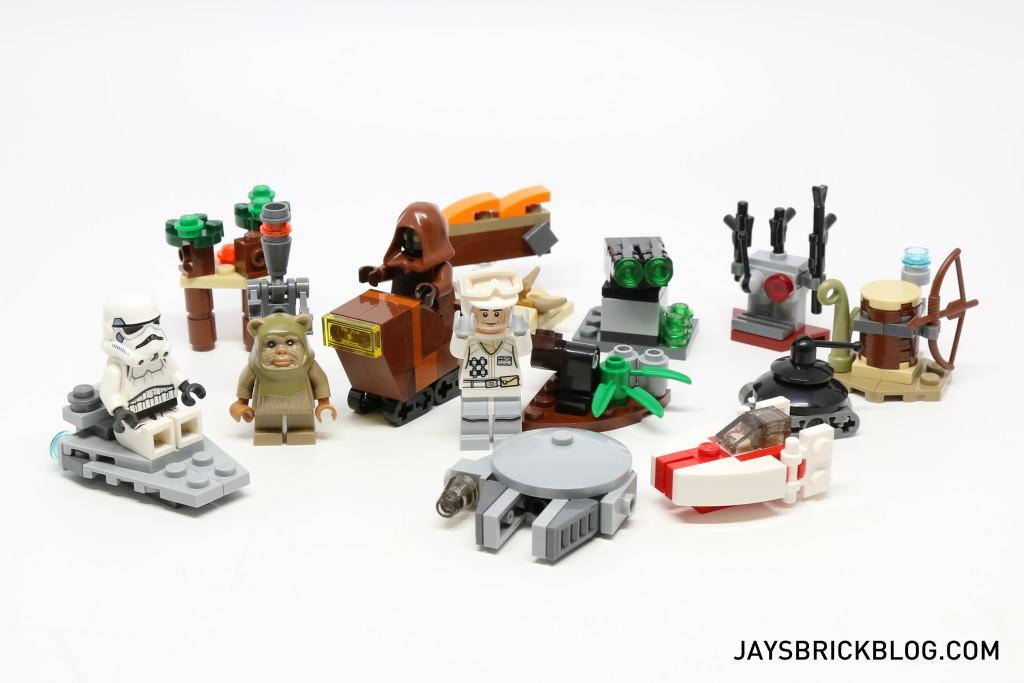 LEGO Star Wars Advent Calendar 2015 Day 17 So Far