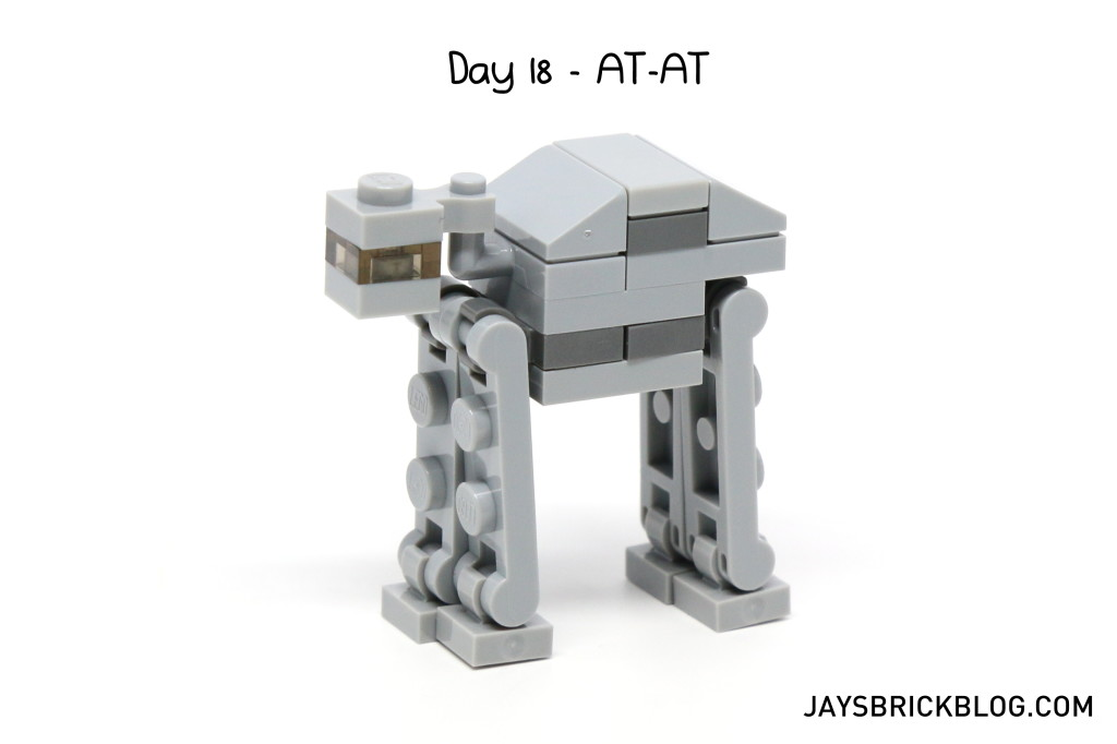 LEGO Star Wars Advent Calendar 2015 Day 18 - AT-AT