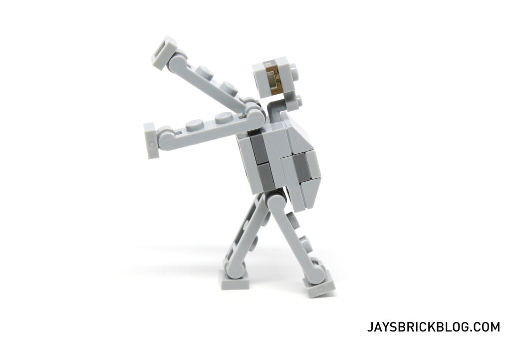 LEGO Star Wars Advent Calendar 2015 Day 18 - AT-AT Posing