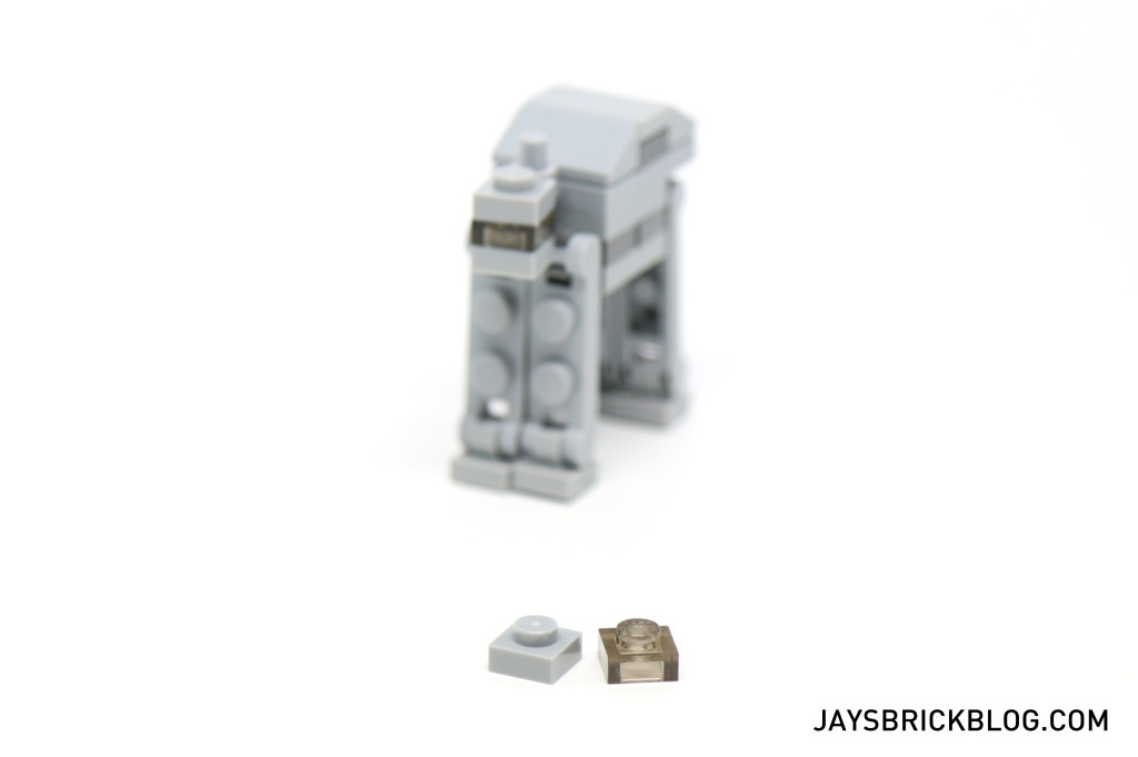 LEGO Star Wars Advent Calendar 2015 Day 18 - AT-AT Spare Elements