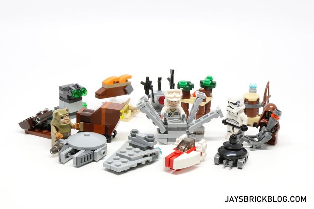 LEGO Star Wars Advent Calendar 2015 Day 18 So Far