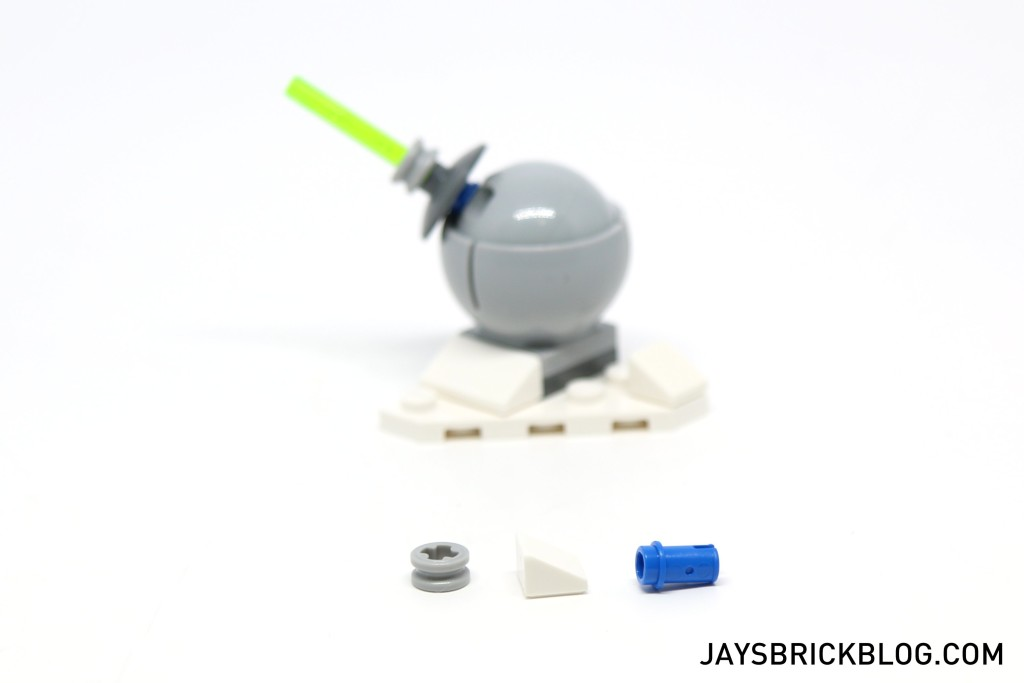 LEGO Star Wars Advent Calendar 2015 Day 19 - Hoth Ion Cannon Spare Elements