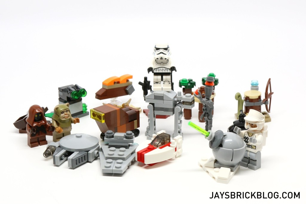 LEGO Star Wars Advent Calendar 2015 Day 19 So Far