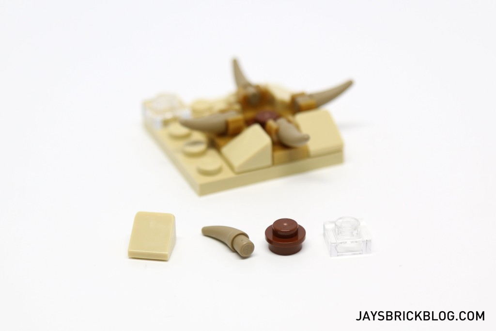 LEGO Star Wars Advent Calendar 2015 Day 2 Sarlacc Pit Spare Parts