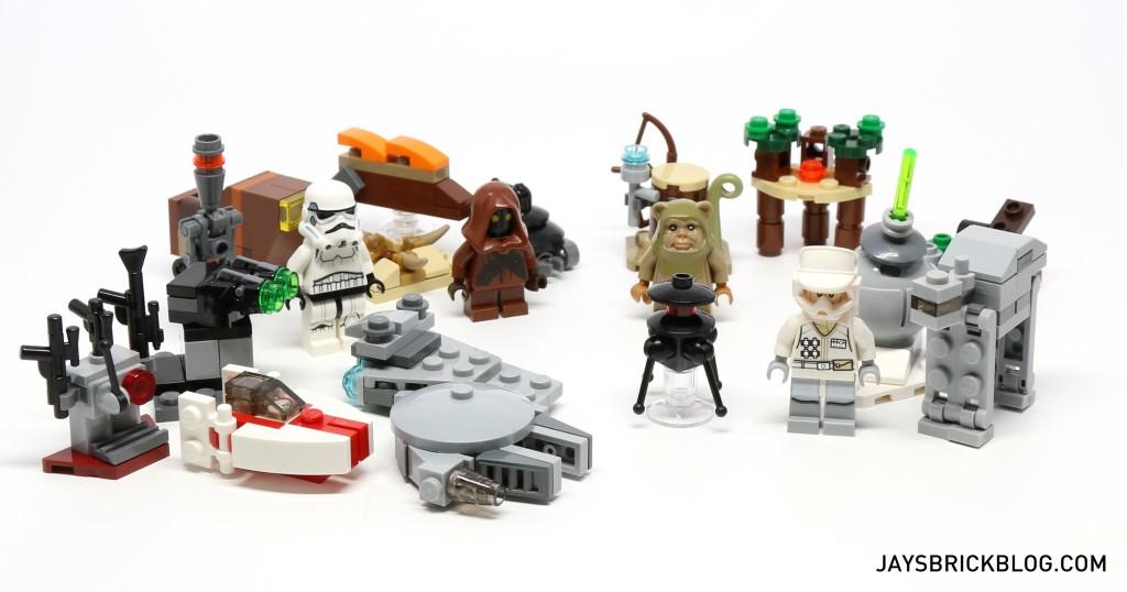 LEGO Star Wars Advent Calendar 2015 Day 20 So Far