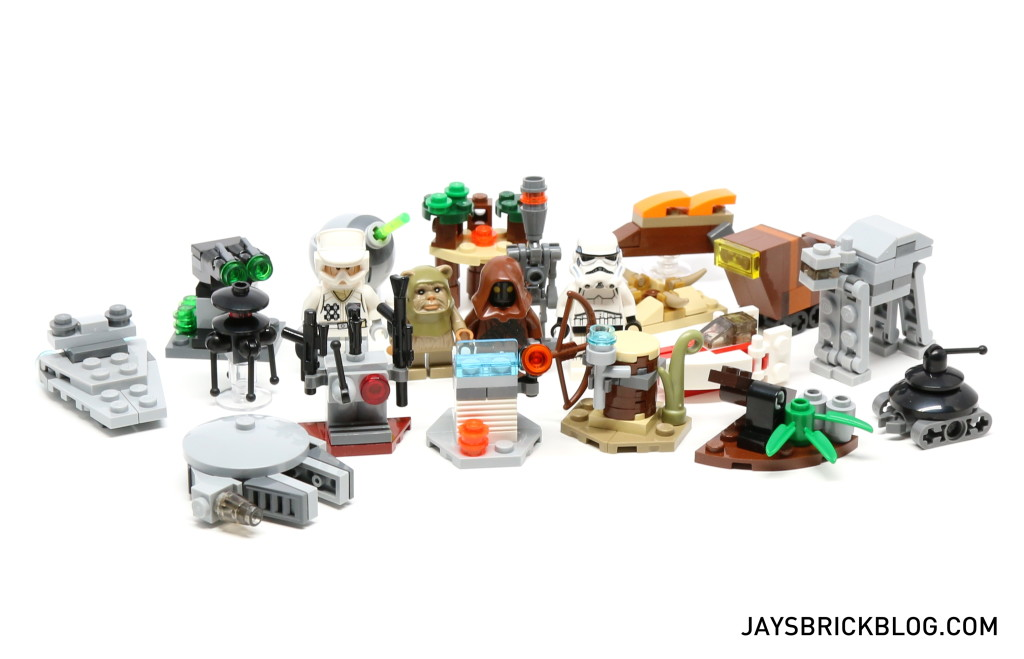 LEGO Star Wars Advent Calendar 2015 Day 21 So Far